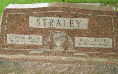 HALLER STRALEY, LOUVENA - Pickaway County, Ohio | LOUVENA HALLER STRALEY - Ohio Gravestone Photos