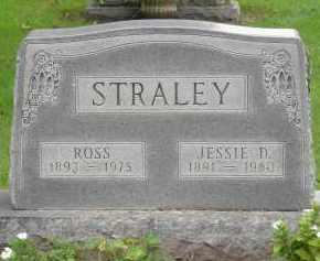 HAYES STRALEY, JESSIE D - Pickaway County, Ohio | JESSIE D HAYES STRALEY - Ohio Gravestone Photos