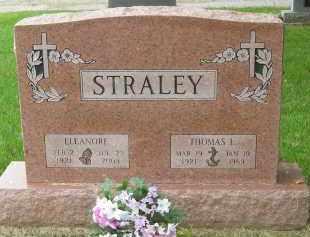 STRALEY, ELEANORE - Pickaway County, Ohio | ELEANORE STRALEY - Ohio Gravestone Photos
