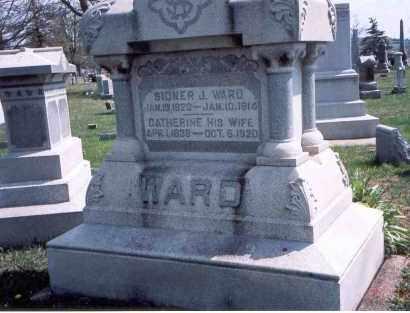 WARD, SIDNER J. - Pickaway County, Ohio | SIDNER J. WARD - Ohio Gravestone Photos
