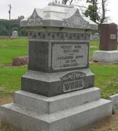 GROVE WORK, CATHARINE - Pickaway County, Ohio | CATHARINE GROVE WORK - Ohio Gravestone Photos
