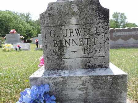 BENNETT, G. JEWELL - Pike County, Ohio   G. JEWELL BENNETT - Ohio Gravestone Photos