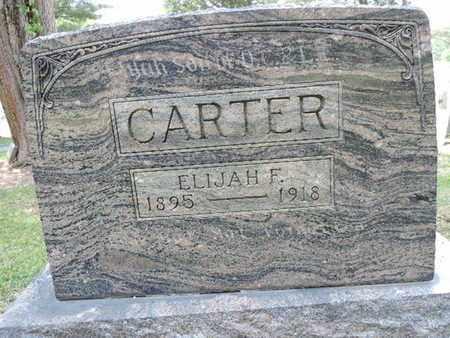 CARTER, ELIJAH F. - Pike County, Ohio | ELIJAH F. CARTER - Ohio Gravestone Photos