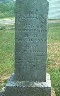 CHAFFIN, ELIZABETH - Pike County, Ohio | ELIZABETH CHAFFIN - Ohio Gravestone Photos