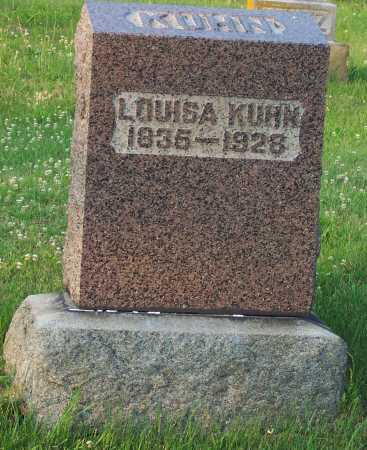 KUHN, LOUISA - Pike County, Ohio | LOUISA KUHN - Ohio Gravestone Photos