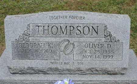 THOMPSON, DEBORAH K. - Pike County, Ohio   DEBORAH K. THOMPSON - Ohio Gravestone Photos
