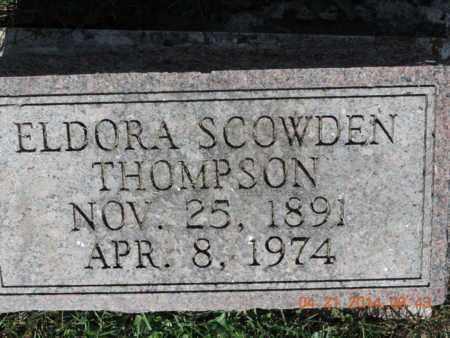 THOMPSON, ELDORA - Pike County, Ohio | ELDORA THOMPSON - Ohio Gravestone Photos