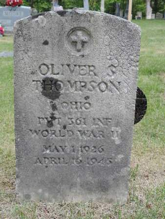 THOMPSON, OLIVER - Pike County, Ohio | OLIVER THOMPSON - Ohio Gravestone Photos