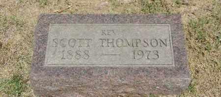 THOMPSON, SCOTT - Pike County, Ohio | SCOTT THOMPSON - Ohio Gravestone Photos
