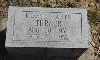 TURNER, RUSSELL ALLEN - Pike County, Ohio   RUSSELL ALLEN TURNER - Ohio Gravestone Photos