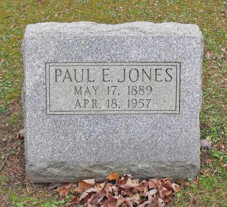 JONES, PAUL E. - Portage County, Ohio | PAUL E. JONES - Ohio Gravestone Photos