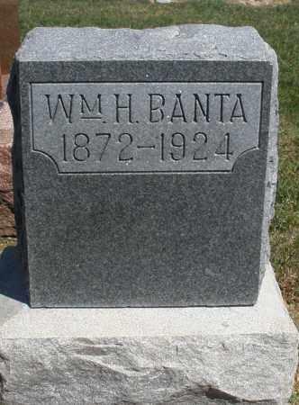 BANTA, WILLIAM H. - Preble County, Ohio | WILLIAM H. BANTA - Ohio Gravestone Photos