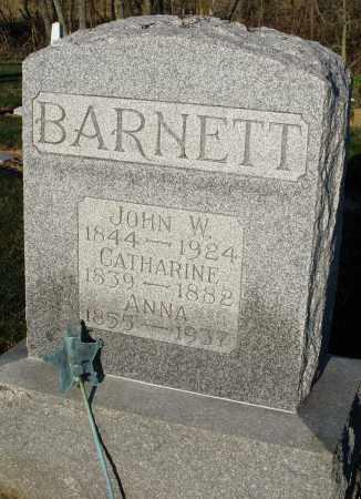 BARNETT, ANNA - Preble County, Ohio | ANNA BARNETT - Ohio Gravestone Photos
