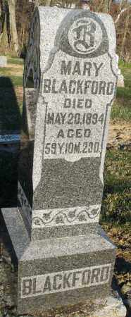 BLACKFORD, MARY - Preble County, Ohio   MARY BLACKFORD - Ohio Gravestone Photos
