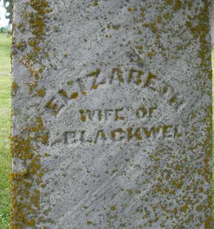 BLACKWELL, ELIZABETH - Preble County, Ohio | ELIZABETH BLACKWELL - Ohio Gravestone Photos
