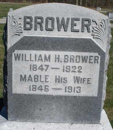 BROWER, MABLE - Preble County, Ohio   MABLE BROWER - Ohio Gravestone Photos