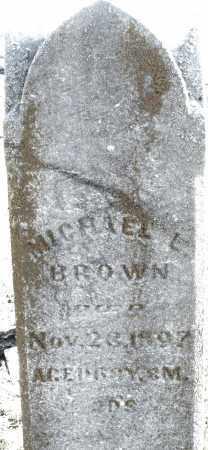 BROWN, MICHAEL L. - Preble County, Ohio   MICHAEL L. BROWN - Ohio Gravestone Photos