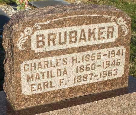 BRUBAKER, EARL F. - Preble County, Ohio | EARL F. BRUBAKER - Ohio Gravestone Photos