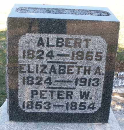 CASSAIRT, ELIZABETH A. - Preble County, Ohio   ELIZABETH A. CASSAIRT - Ohio Gravestone Photos