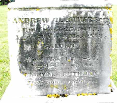 CLEMMER, RUTH ANN - Preble County, Ohio | RUTH ANN CLEMMER - Ohio Gravestone Photos