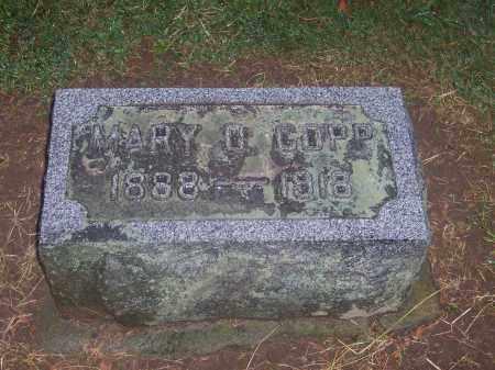 COPP, MARY - Preble County, Ohio | MARY COPP - Ohio Gravestone Photos