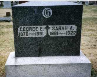 GLANDER, GEORGE E. - Preble County, Ohio | GEORGE E. GLANDER - Ohio Gravestone Photos