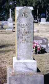 GLANDER, REBECCA M. - Preble County, Ohio   REBECCA M. GLANDER - Ohio Gravestone Photos