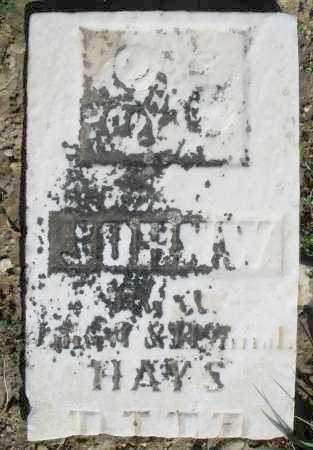 HAYS, JOHN W. - Preble County, Ohio | JOHN W. HAYS - Ohio Gravestone Photos