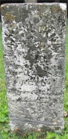 HECKMAN, MARY - Preble County, Ohio | MARY HECKMAN - Ohio Gravestone Photos