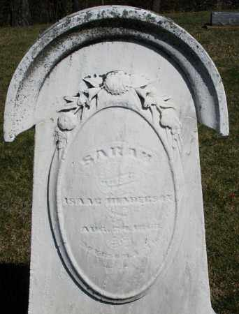 HENDERSON, SARAH - Preble County, Ohio   SARAH HENDERSON - Ohio Gravestone Photos