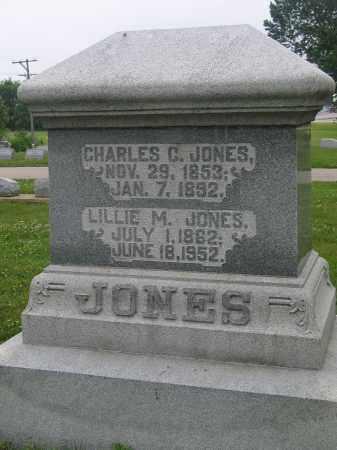 JONES, LILLIE M. - Preble County, Ohio   LILLIE M. JONES - Ohio Gravestone Photos