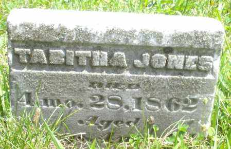 JONES, TABITHA - Preble County, Ohio   TABITHA JONES - Ohio Gravestone Photos