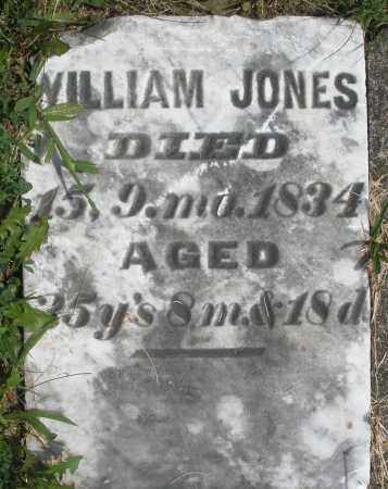 JONES, WILLIAM - Preble County, Ohio   WILLIAM JONES - Ohio Gravestone Photos