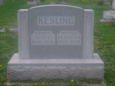 KESLING, JOHN - Preble County, Ohio | JOHN KESLING - Ohio Gravestone Photos