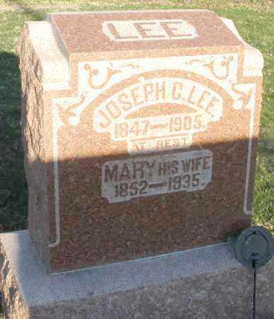 LEE, JOSEPH C. - Preble County, Ohio | JOSEPH C. LEE - Ohio Gravestone Photos