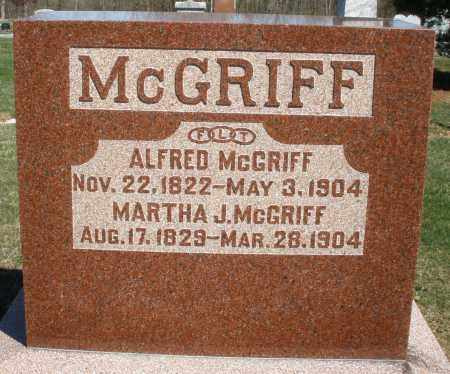 RYNEARSON MCGRIFF, MARTHA - Preble County, Ohio   MARTHA RYNEARSON MCGRIFF - Ohio Gravestone Photos