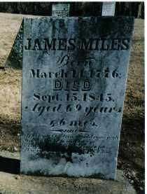 MILES, JAMES - Preble County, Ohio | JAMES MILES - Ohio Gravestone Photos
