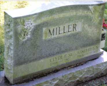 MILLER, CLYDE E., SR - Preble County, Ohio   CLYDE E., SR MILLER - Ohio Gravestone Photos