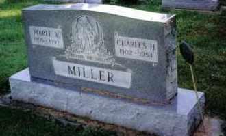 MILLER, CHARLES H. - Preble County, Ohio | CHARLES H. MILLER - Ohio Gravestone Photos