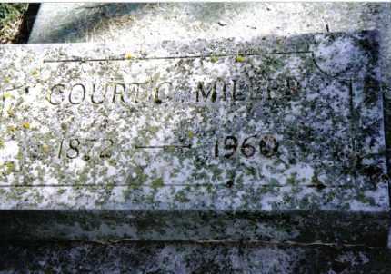 MILLER, COURT C. - Preble County, Ohio | COURT C. MILLER - Ohio Gravestone Photos