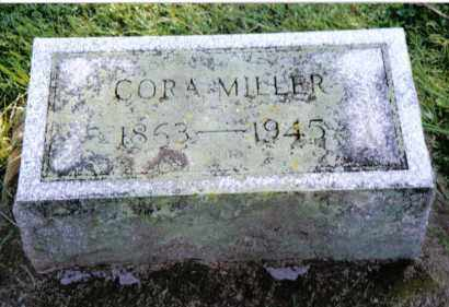 MILLER, CORA - Preble County, Ohio | CORA MILLER - Ohio Gravestone Photos