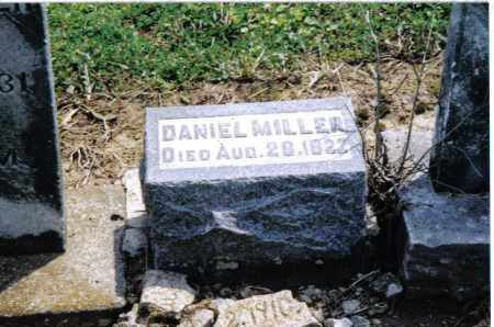 MILLER, DANIEL - Preble County, Ohio | DANIEL MILLER - Ohio Gravestone Photos