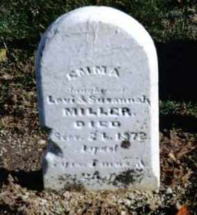MILLER, EMMA - Preble County, Ohio   EMMA MILLER - Ohio Gravestone Photos
