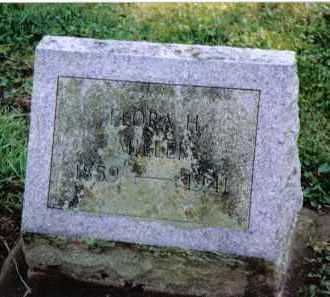 MILLER, FLORA H. - Preble County, Ohio | FLORA H. MILLER - Ohio Gravestone Photos