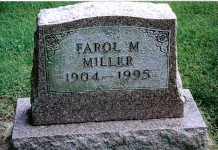 MILLER, FAROL M. - Preble County, Ohio   FAROL M. MILLER - Ohio Gravestone Photos