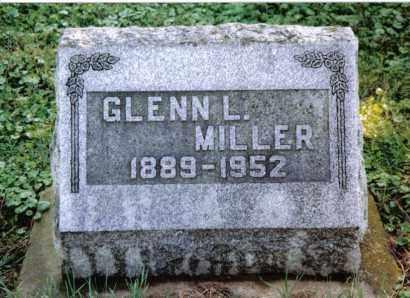 MILLER, GLENN L. - Preble County, Ohio   GLENN L. MILLER - Ohio Gravestone Photos