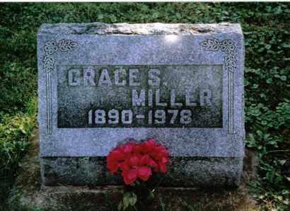 MILLER, GRACE S. - Preble County, Ohio   GRACE S. MILLER - Ohio Gravestone Photos