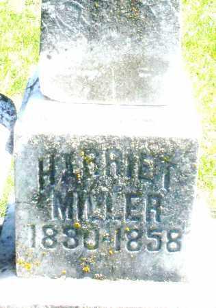 MILLER, HARRIET - Preble County, Ohio | HARRIET MILLER - Ohio Gravestone Photos