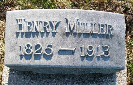 MILLER, HENRY - Preble County, Ohio | HENRY MILLER - Ohio Gravestone Photos