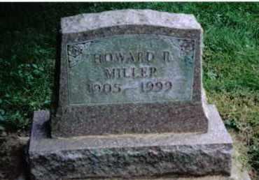 MILLER, HOWARD R. - Preble County, Ohio | HOWARD R. MILLER - Ohio Gravestone Photos